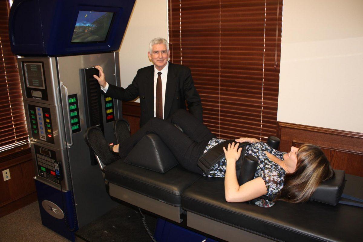 Spinal Decompression Machine at Keller Disc and Spine
